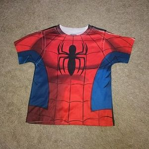 Marvel Spiderman 3T Color Graphic Shirt